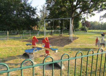 Play Area at Bearwood Recreation Ground