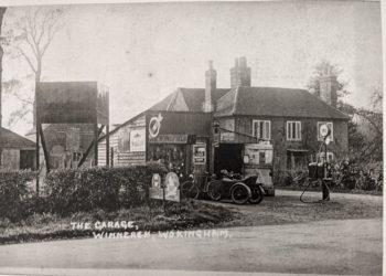 The petrol garage in Winnersh