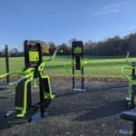 Outdoor gym at Bearwood Recreation Ground