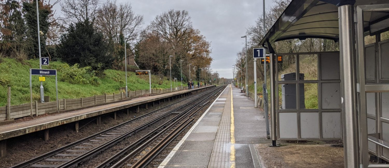 Winnersh Train Station