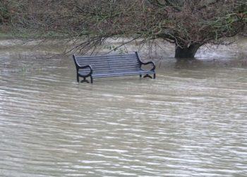 Flooding in Lower Earley