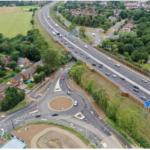 New roundabouts in Winnersh